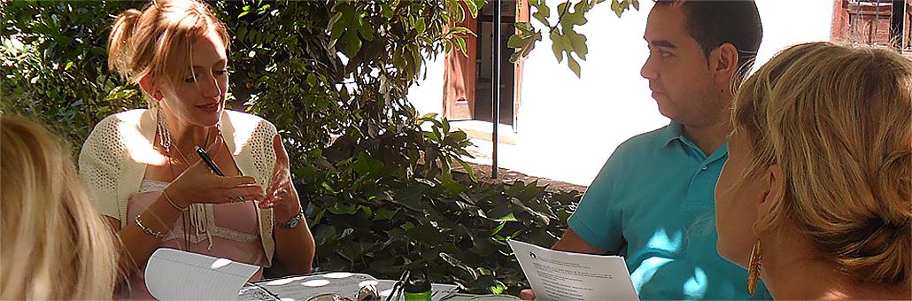 Aprender Español en el Jardín de Castila