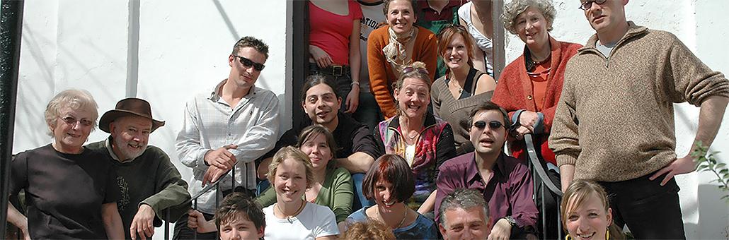 Grupo de estudiantes de español adultos