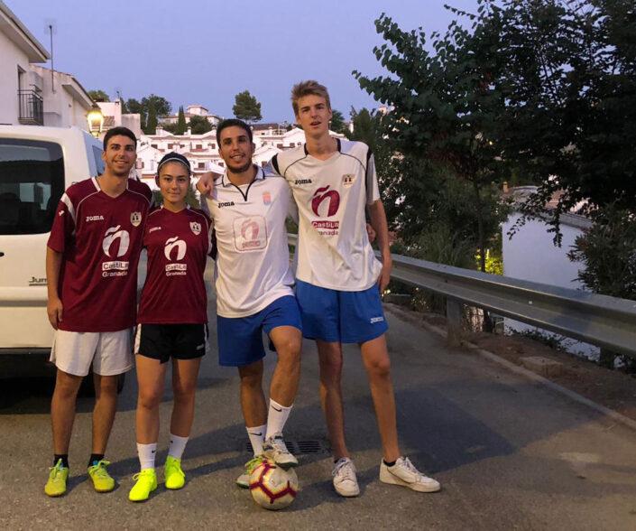 cursos de español en españa actividad futbol