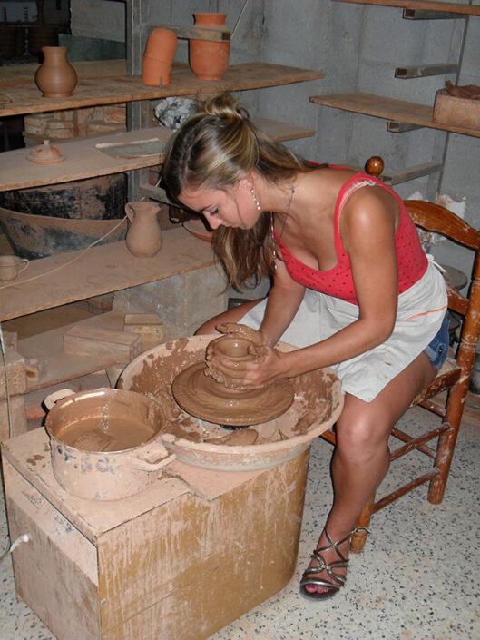 aprender español en españa ceramica