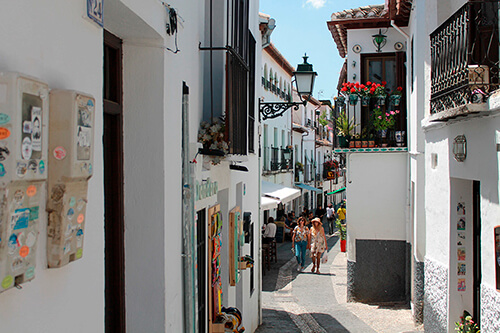 Calles albaicin