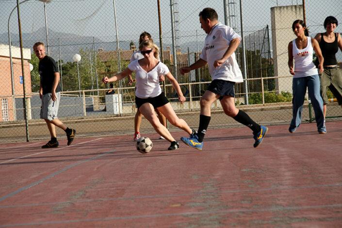 actividad futbol cursos de español