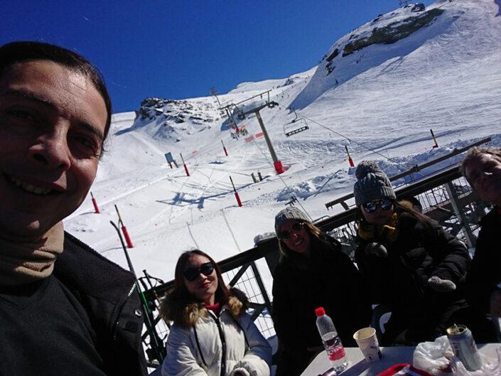activities ski aprender español en españa