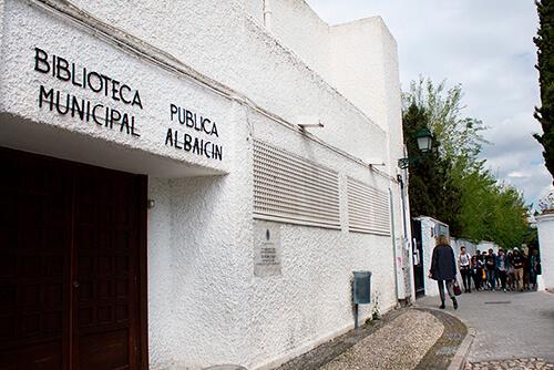biblioteca albaicin