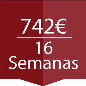 16 semnas precios cursos español