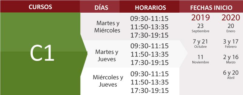 C1 cursos de español para extrajeros