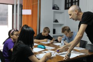 cursos familias clase