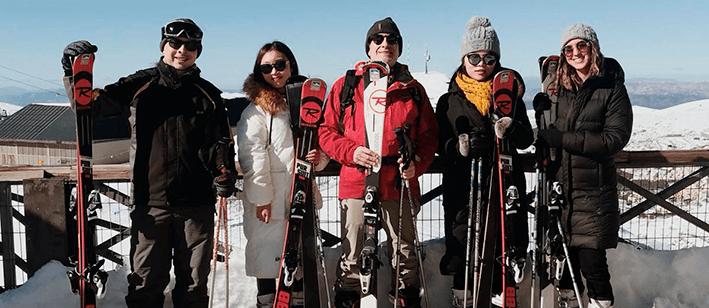 Cursos de español (General A o General B) + Esquí