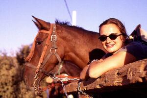 cursos de español y caballos